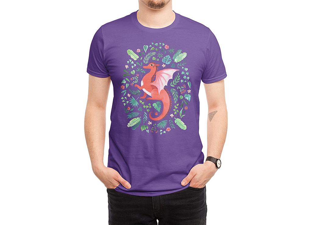 Threadless: Tropical Dragon