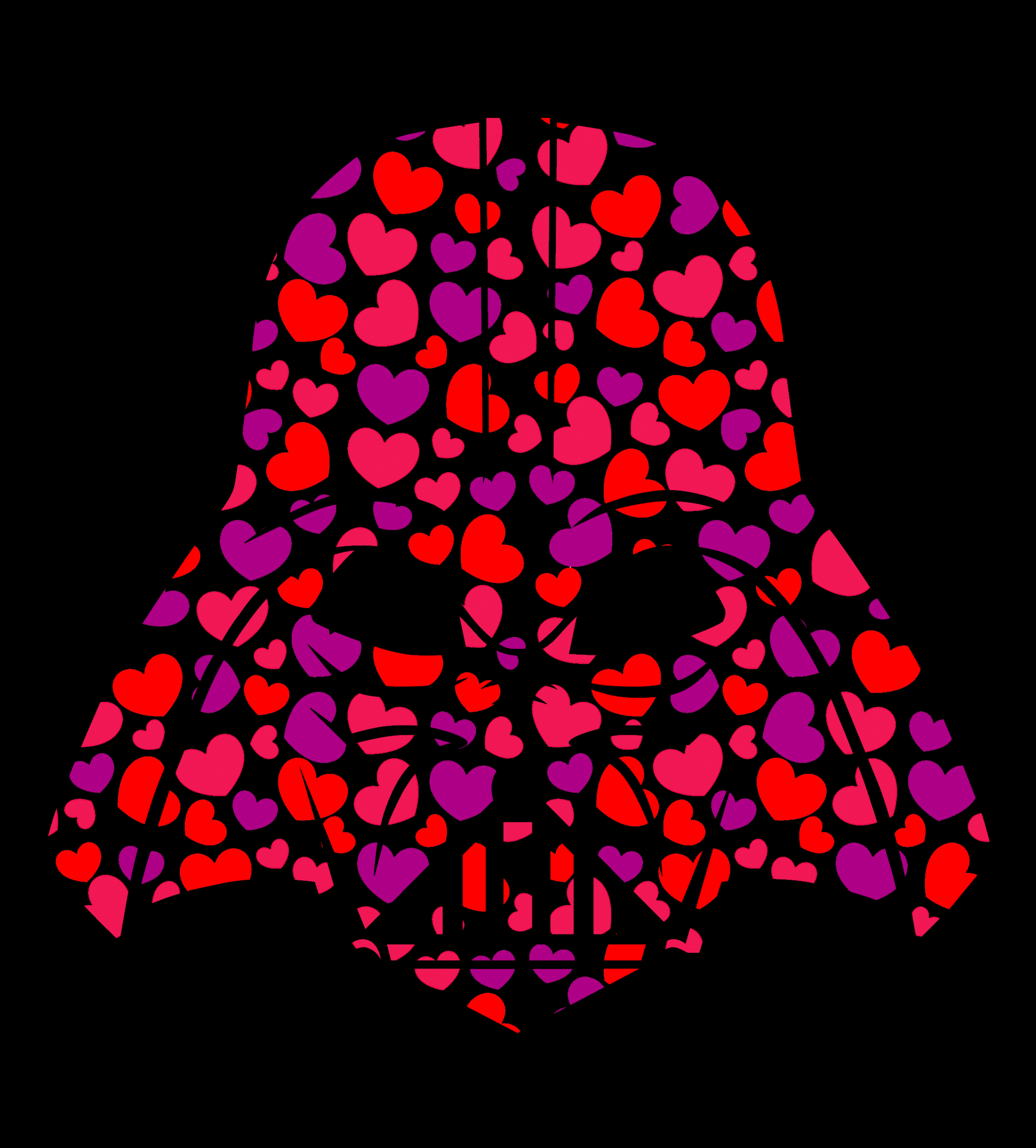 Shirt Battle: Darth Heart