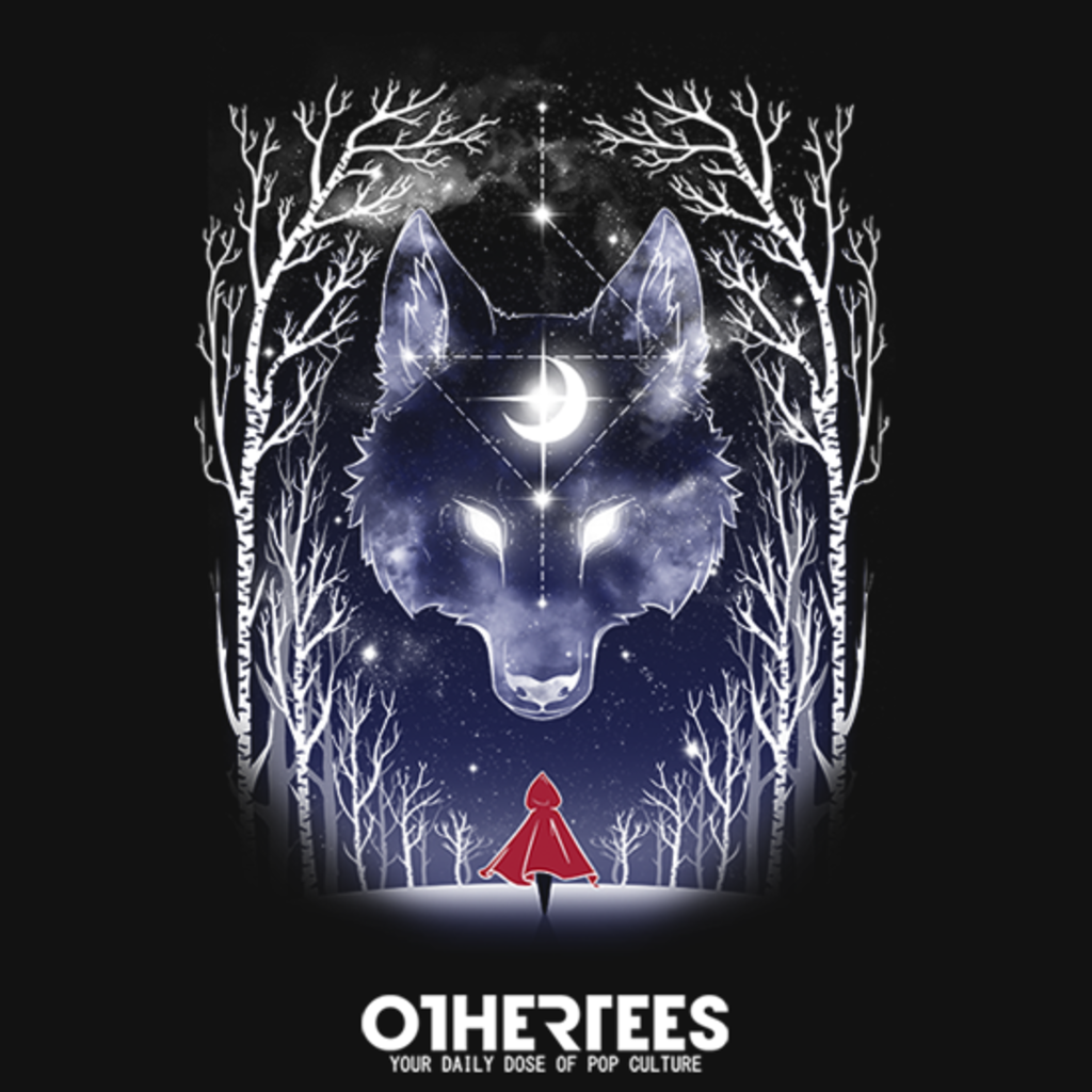 OtherTees: Starry Red Riding Hood