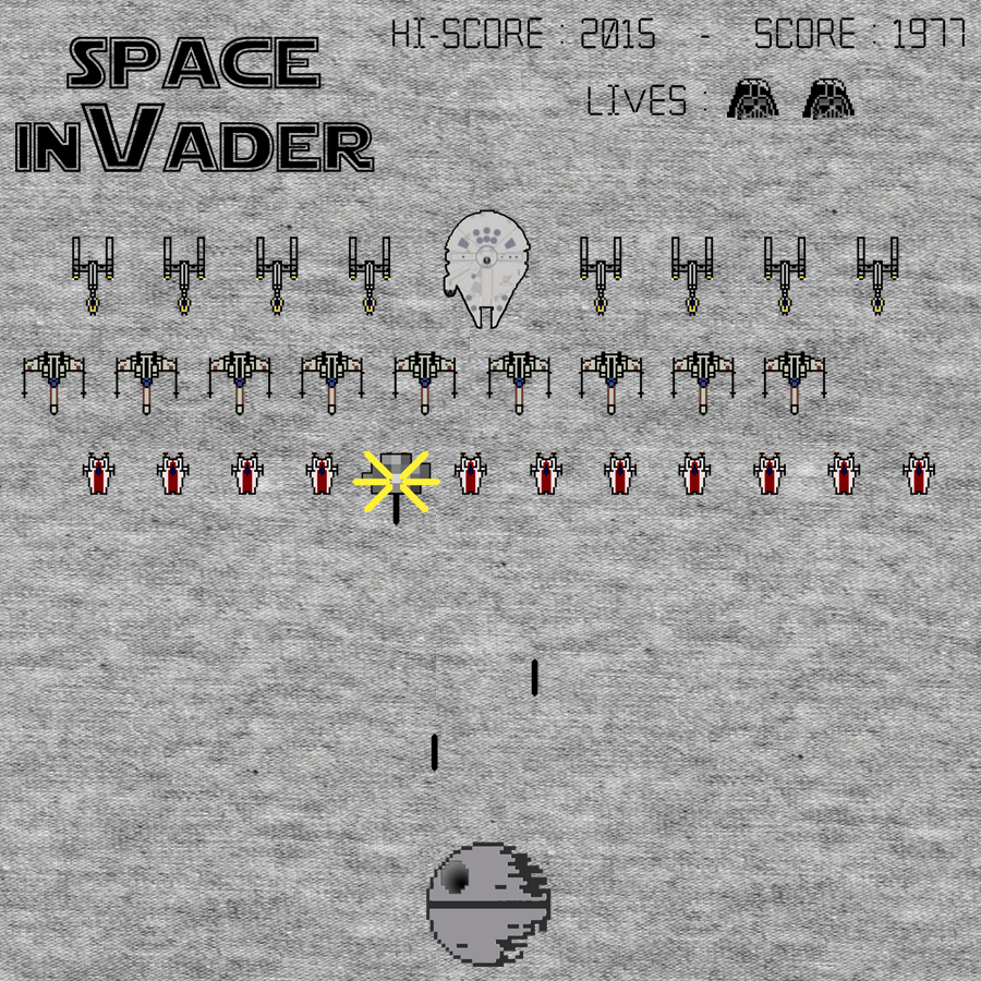 Teeconomist: Space inVader