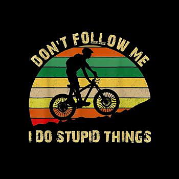 BustedTees: Funny Mountain Bike