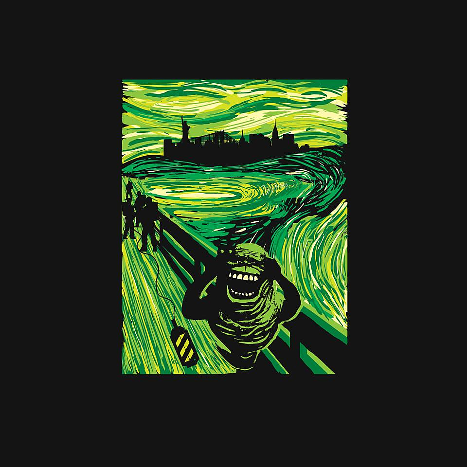 TeeFury: Slimer's Scream