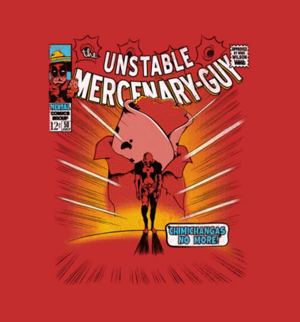BustedTees: Unstable Mercenary Guy