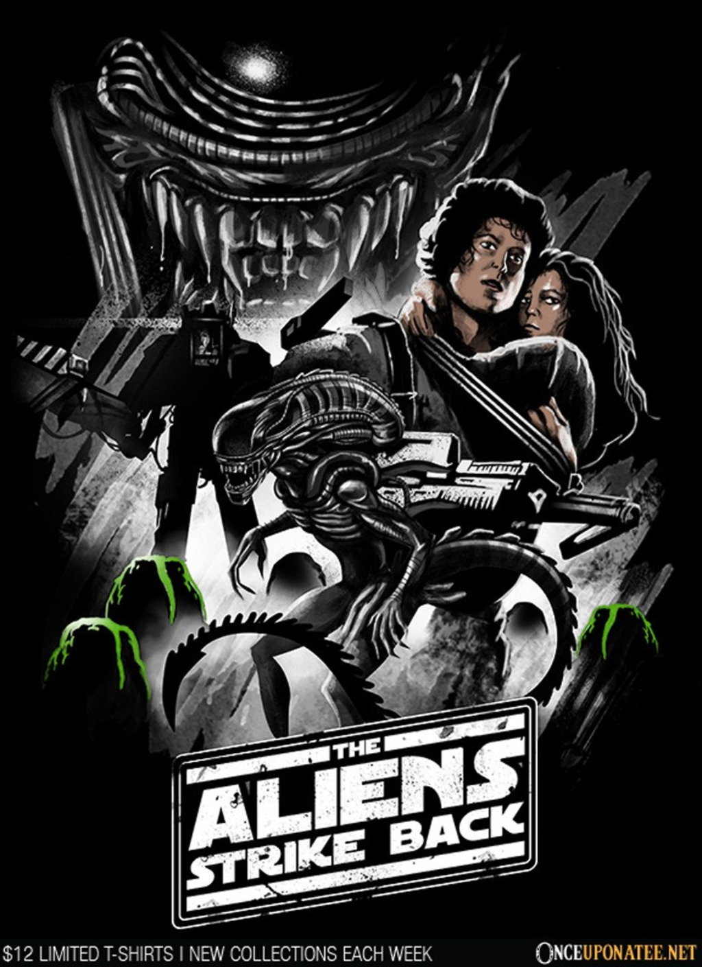 Once Upon a Tee: Aliens Strike Back