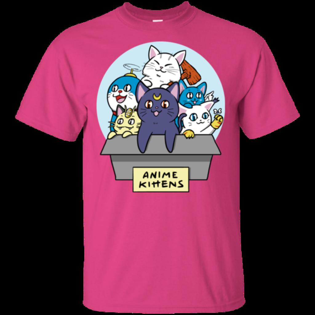 Pop-Up Tee: Anime Kittens