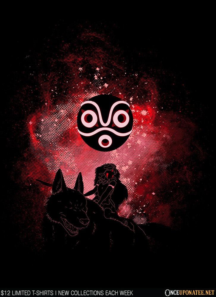 Once Upon a Tee: Mononoke Art