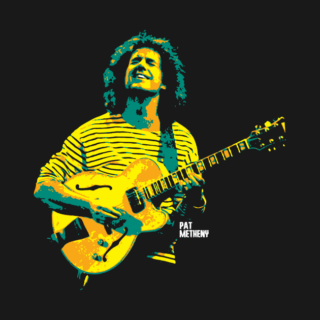 TeePublic: Pat Metheny. Patrick Bruce Metheny. an American jazz guitarist and composer. jazz musicians. jazz legends.