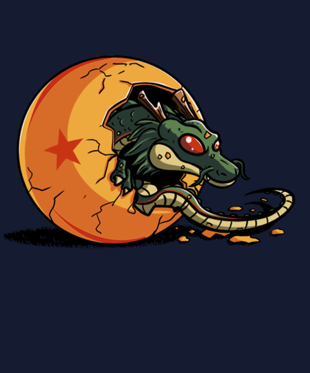 Qwertee: The birth of shenron