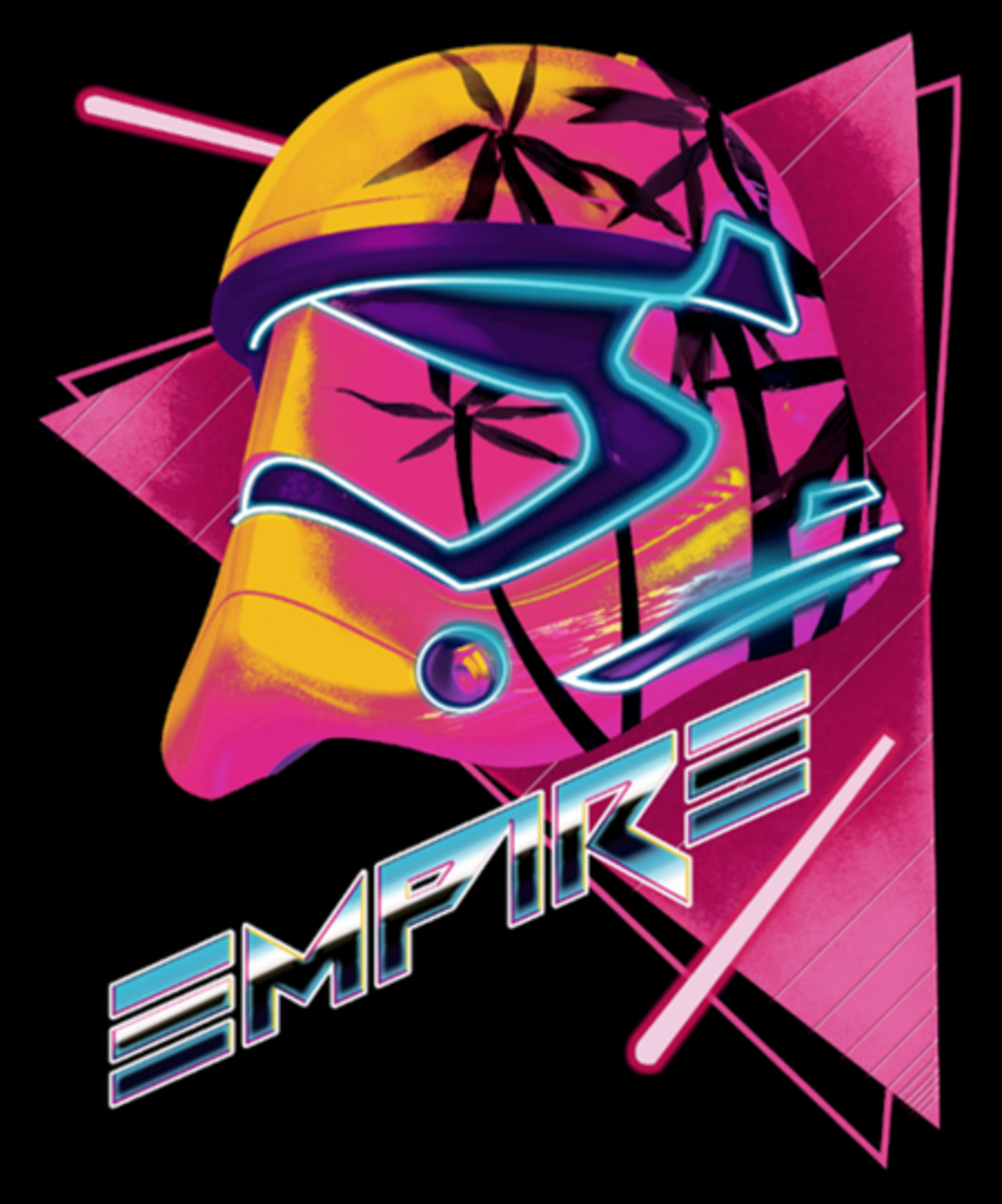 Qwertee: Galactic Empire New Order