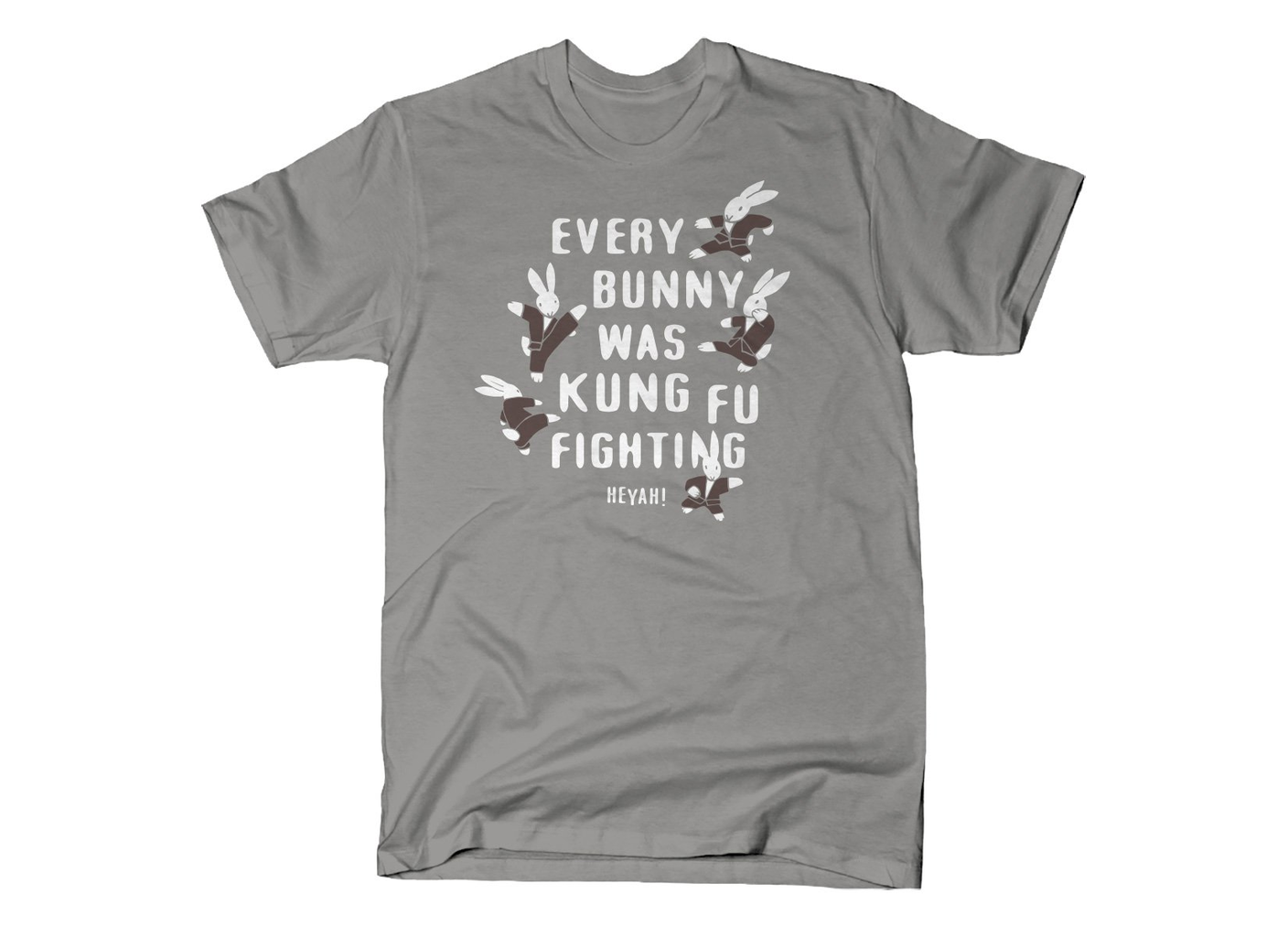 SnorgTees: Every Bunny Was Kung Fu Fighting