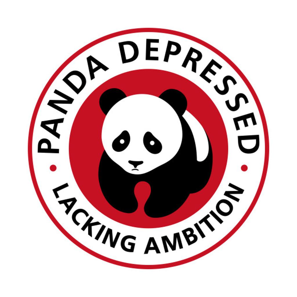 TeePublic: Panda Depressed