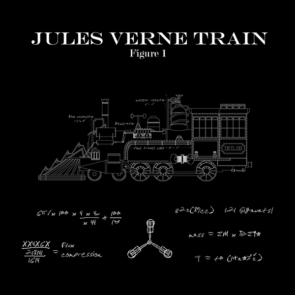 NeatoShop: JULES VERNE TRAIN BLUEPRINTS