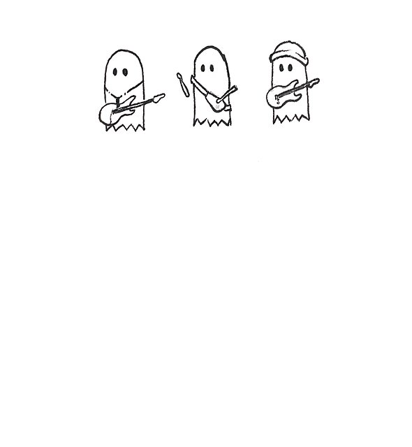 RedBubble: Julie and the Phantoms Ghosties