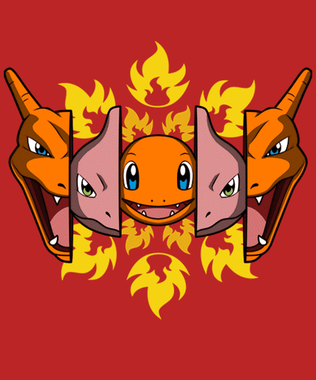 Qwertee: Fire Evolution