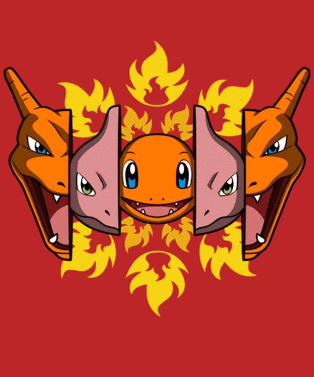 Qwertee: Fire Evolution