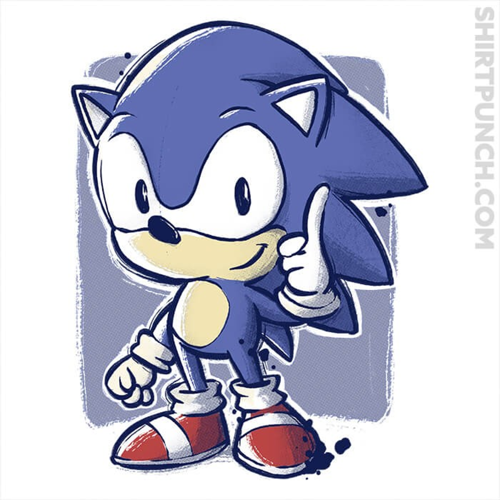ShirtPunch: The Fast Hedgehog