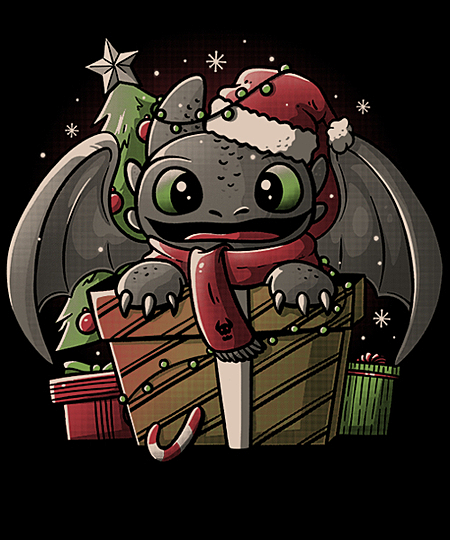 Qwertee: Dragon Gift