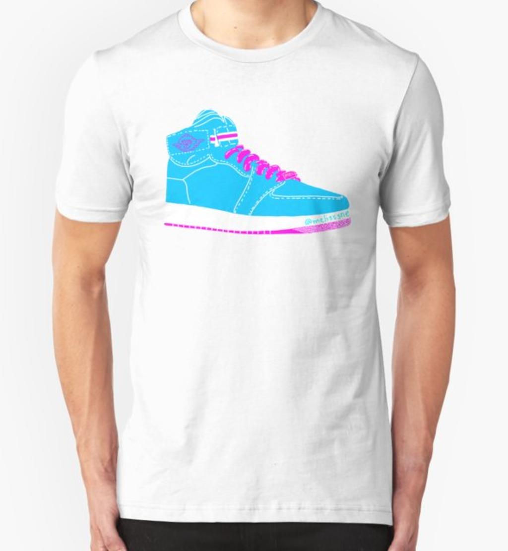 RedBubble: Jordan Sneaker for Fresh Air