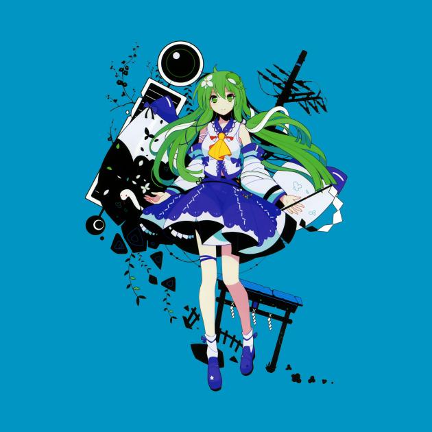 TeePublic: Touhou - Sanae Kochiya