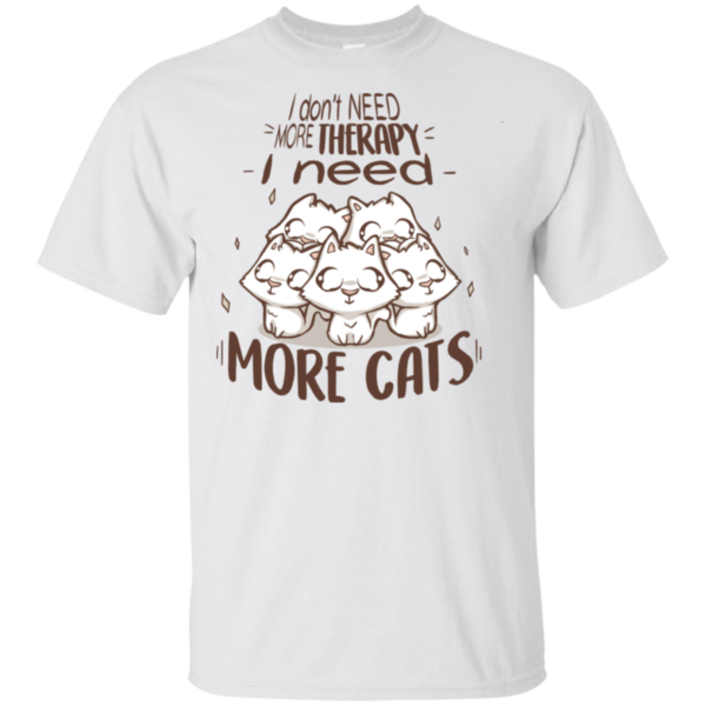 Pop-Up Tee: Therapy Cats
