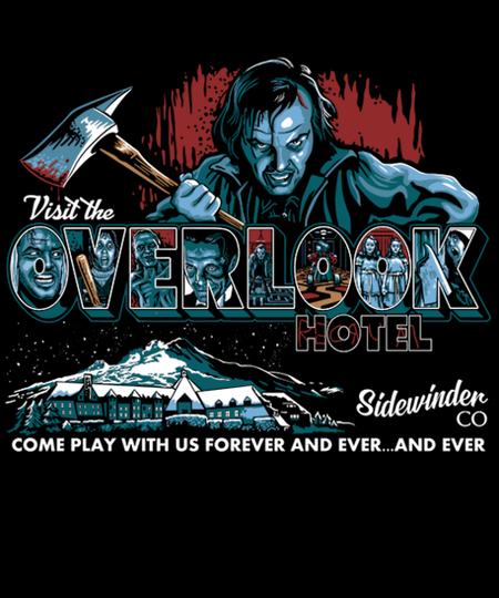Qwertee: Visit The Overlook