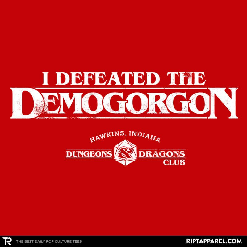 Ript: I Defeated The Demogorgon