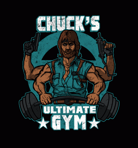 BustedTees: Chuck's Ultimate Gym