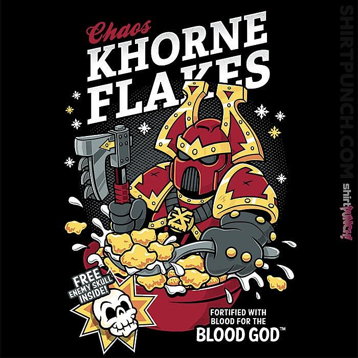 ShirtPunch: Chaos Khorne Flakes