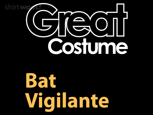 Woot!: Great Costume: Bat Vigilante