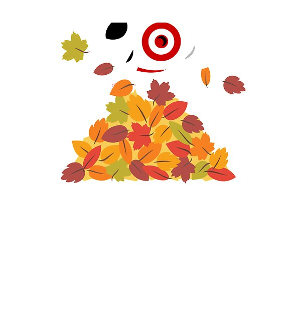 RedBubble: Target Bullseye Fall Leaves