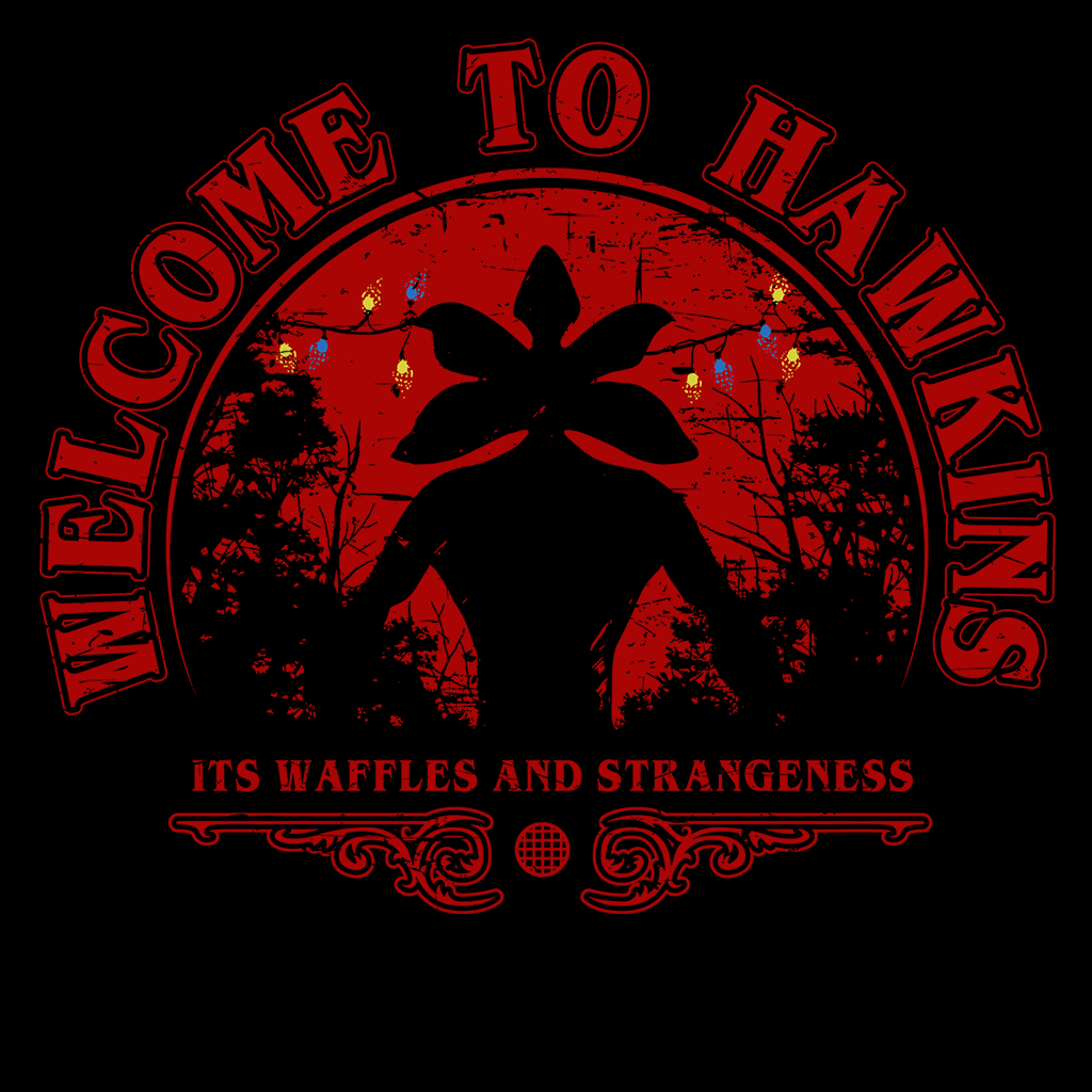 Pop-Up Tee: Welcome to Hawkins