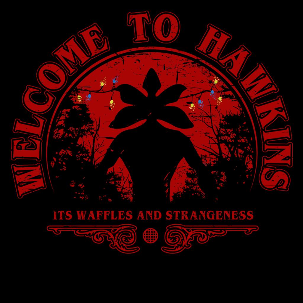 Pop-Up Tee: Welcome to Hawkins