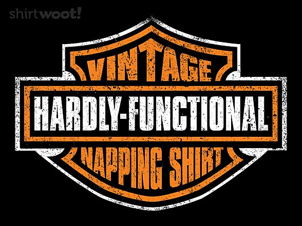 Woot!: My Vintage Napping Shirt