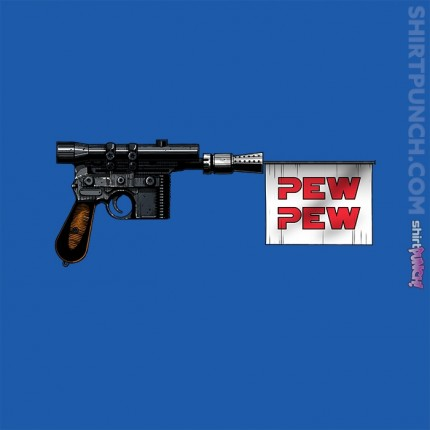 ShirtPunch: pew pew