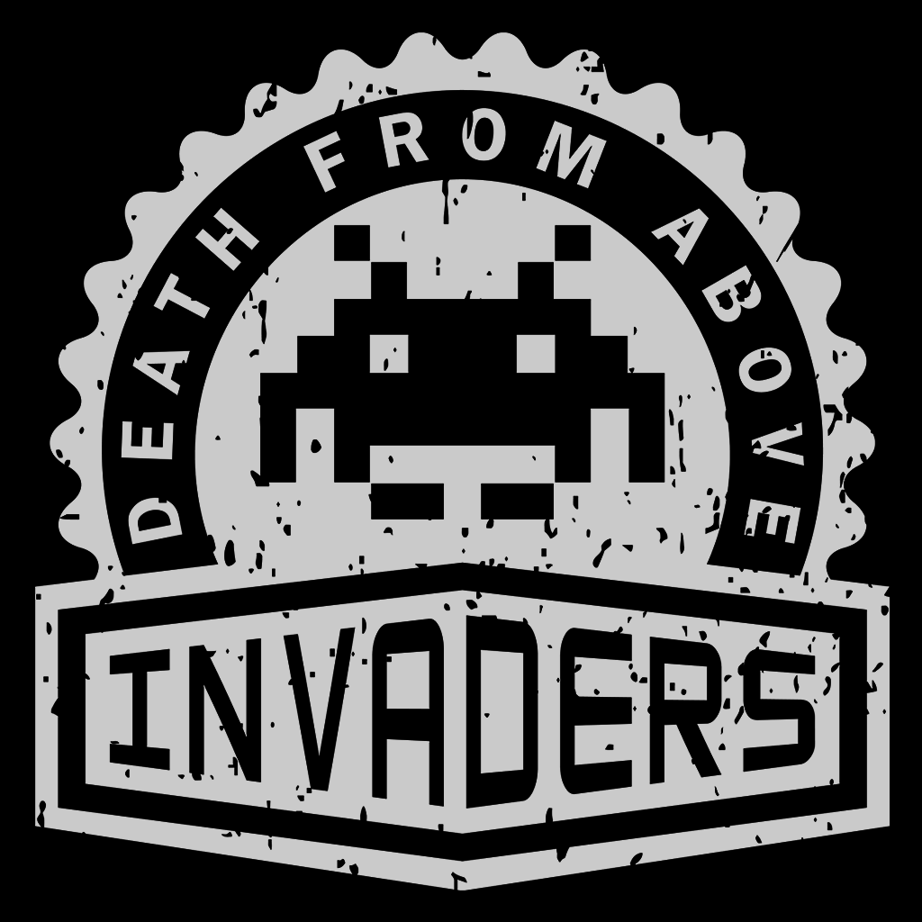 Pop-Up Tee: Invaders Crest