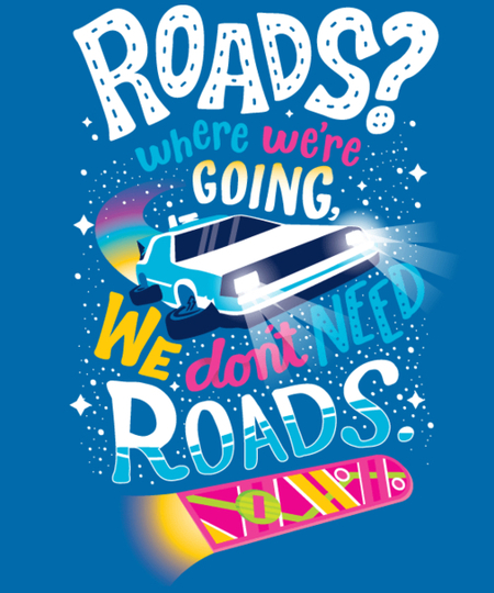 Qwertee: We don't need roads