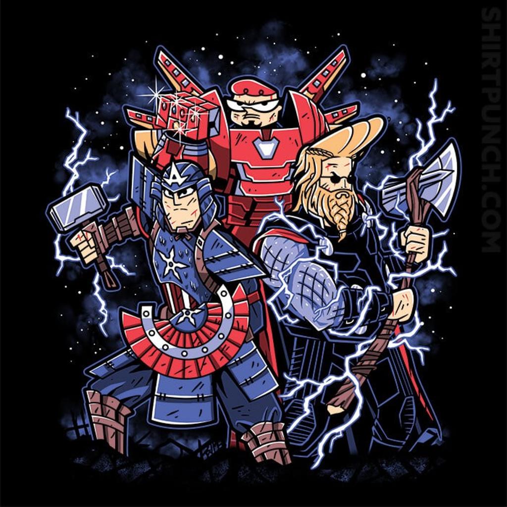ShirtPunch: Toonvengers Trinity