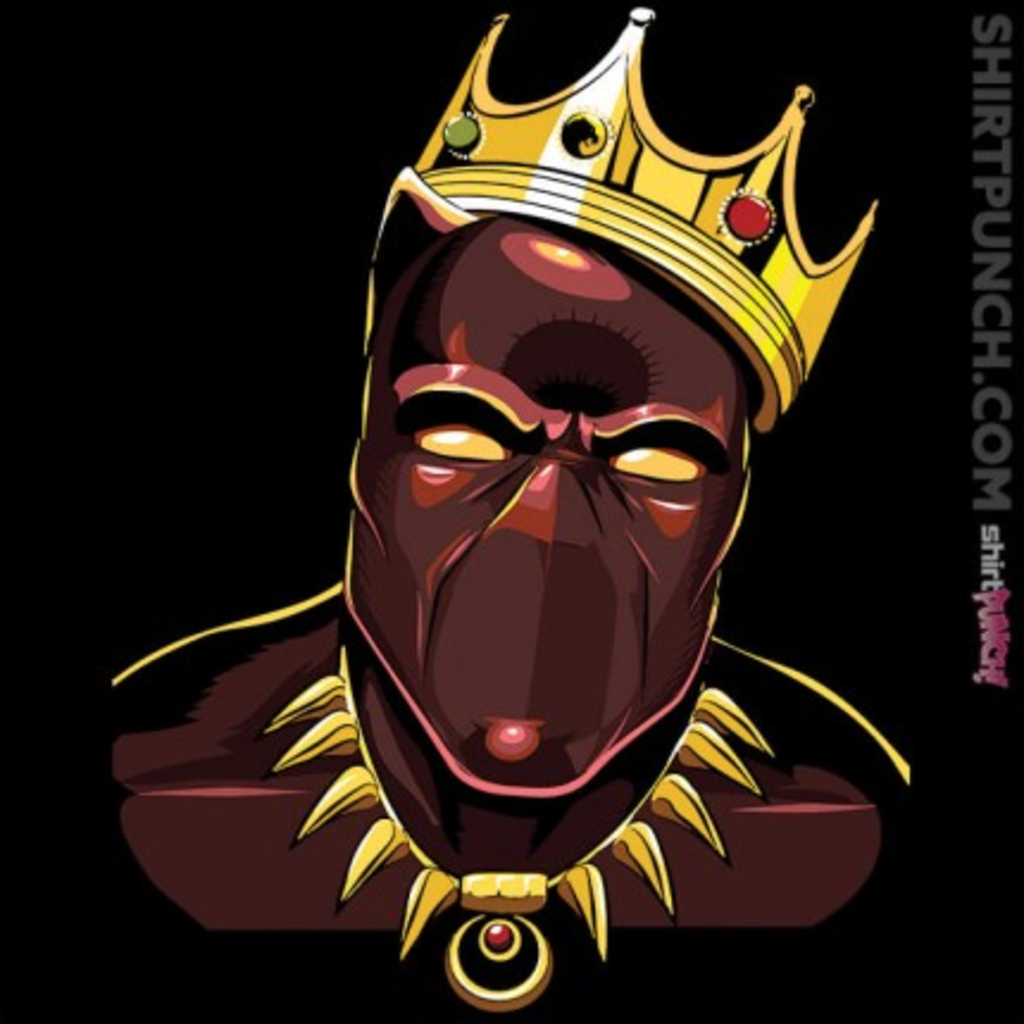 ShirtPunch: Notorious T'Challa