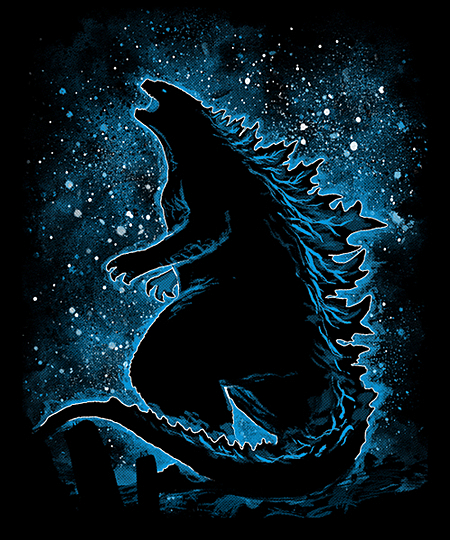 Qwertee: Kaiju - King of Monsters