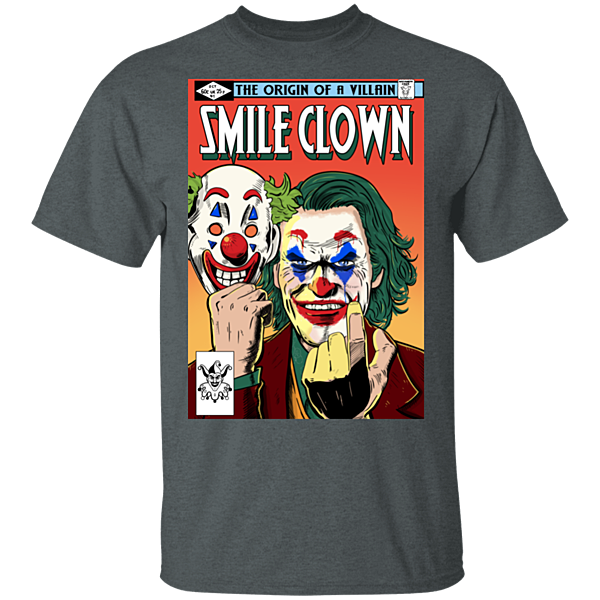 Pop-Up Tee: Smile Clown