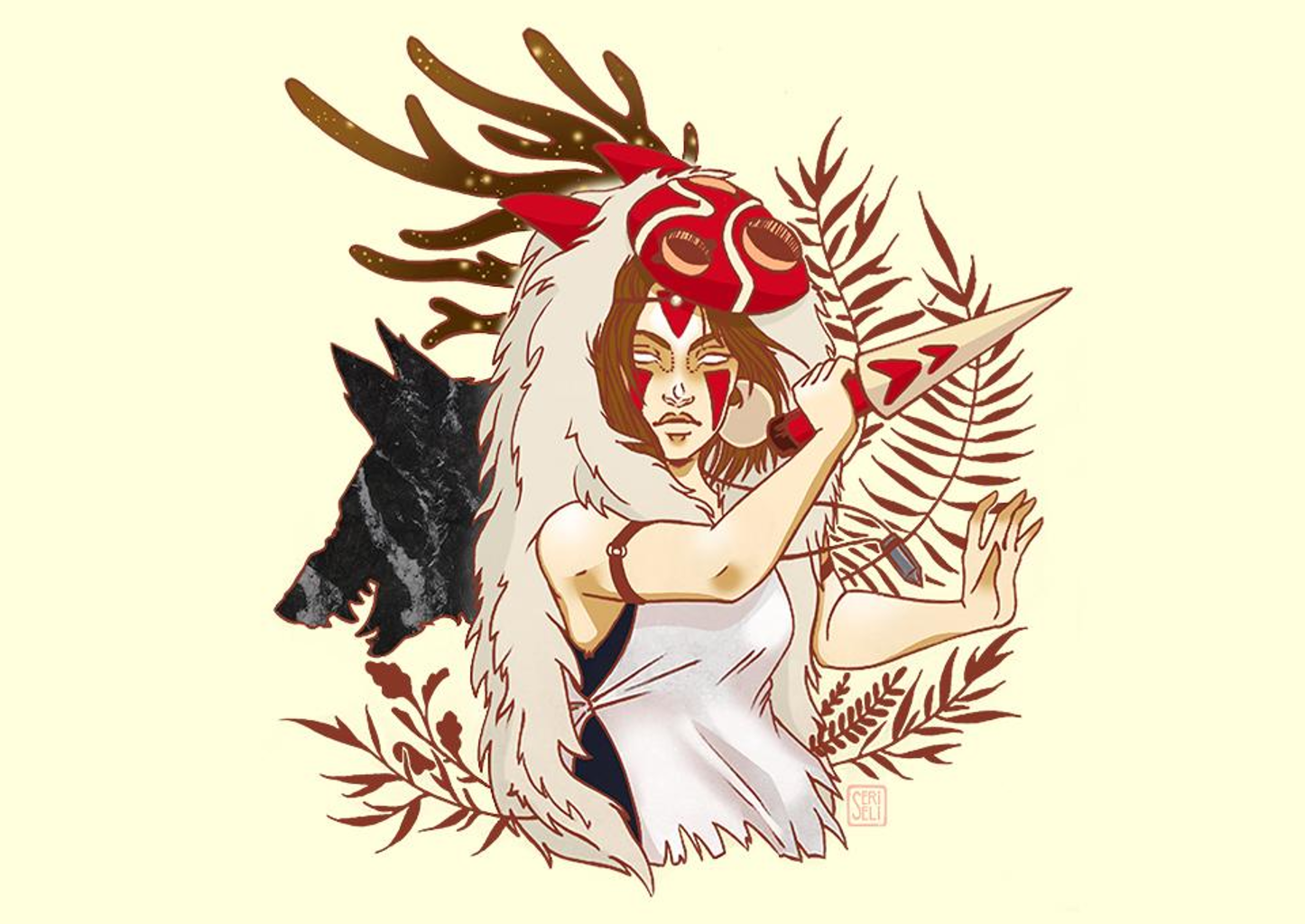 TeeFury: The Girl of the Forest
