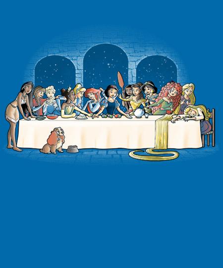 Qwertee: Princess dinner