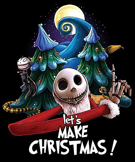 Qwertee: Let's Make Christmas