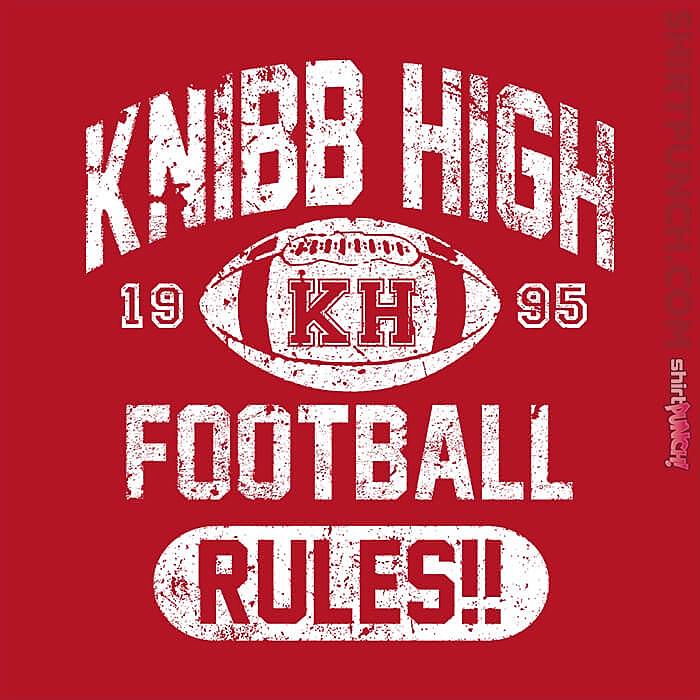 ShirtPunch: Knibb High Football Rules