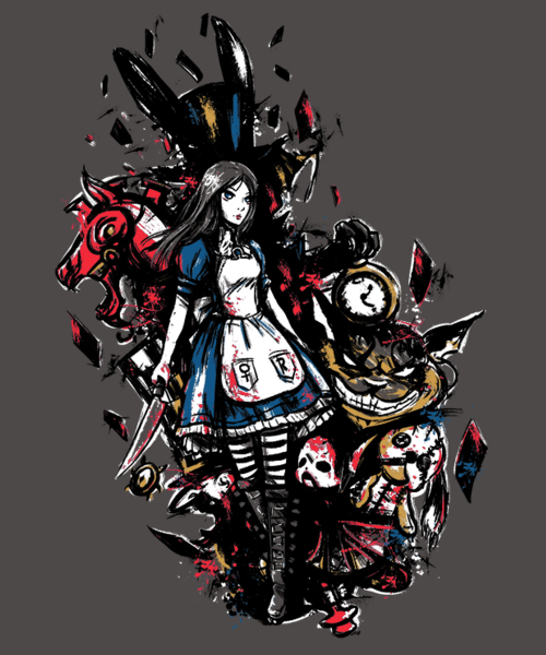 Qwertee: Alice in Mad