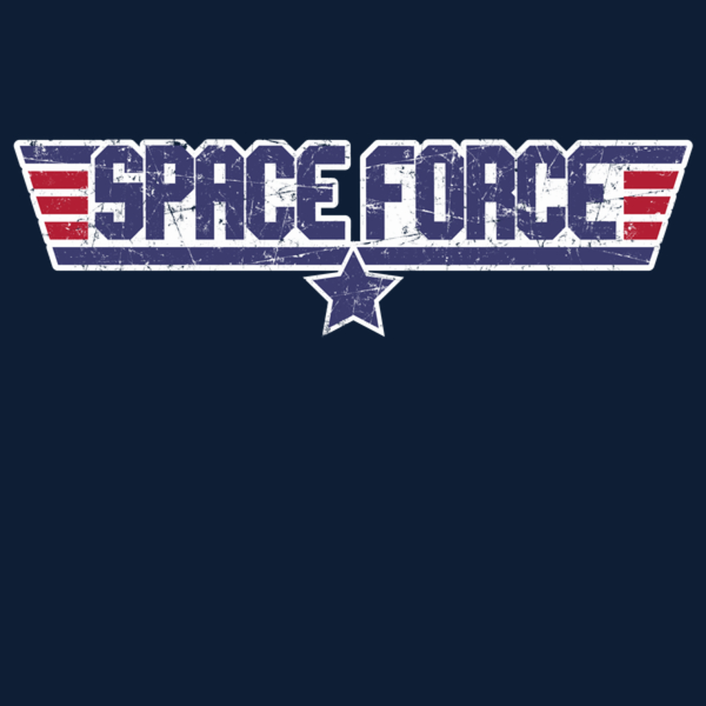 NeatoShop: Space Force - Support Our Troops ... in SPAAACE!
