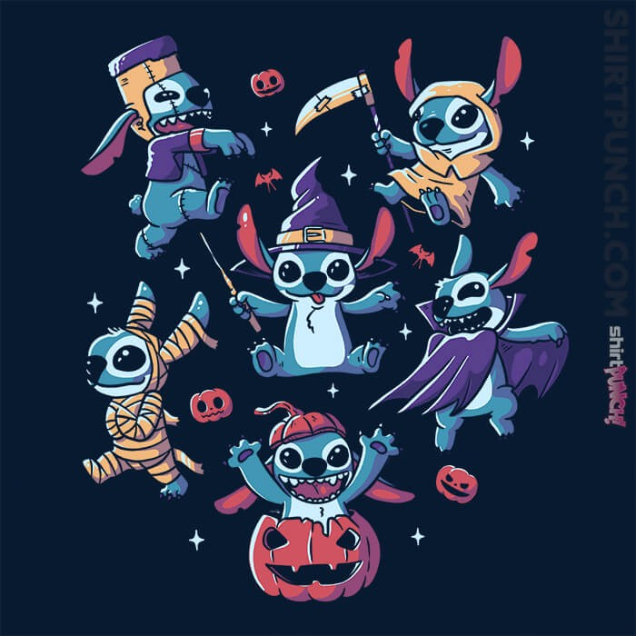 ShirtPunch: Halloween Experiments