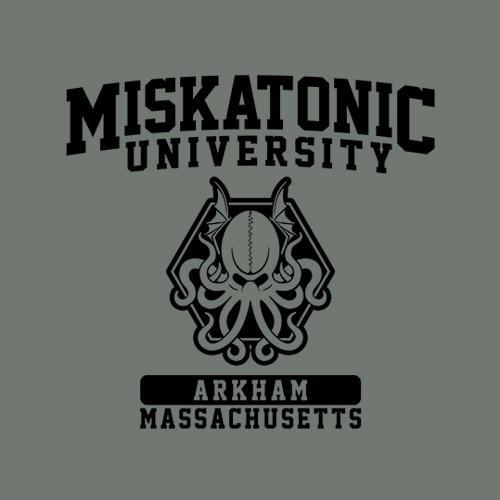 Five Finger Tees: Miskatonic University T-Shirt