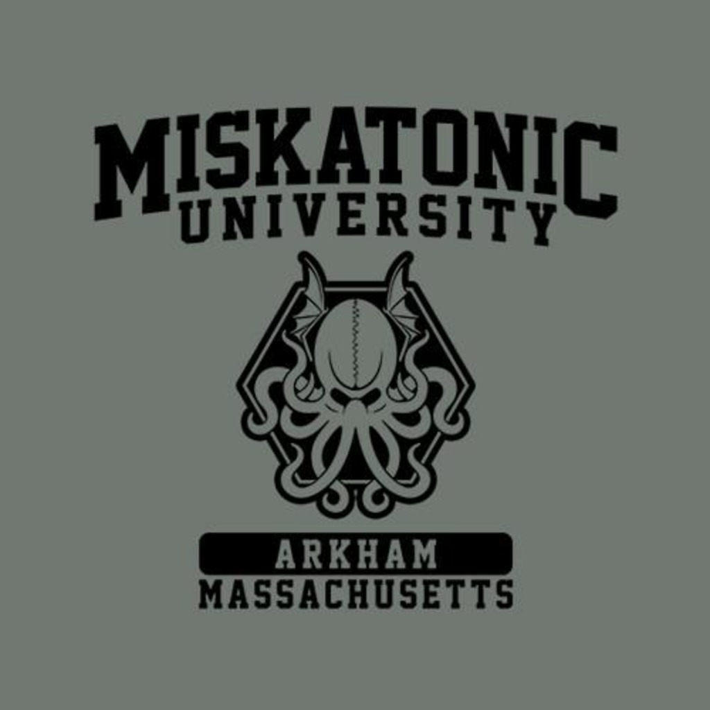 Five Finger Tees: Miskatonic University T-Shirt