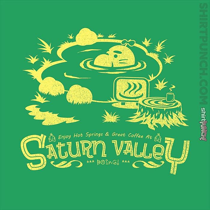 ShirtPunch: Relax In Saturn Valley